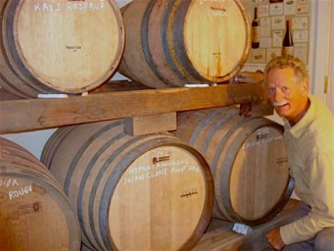 Winemaker Don Baumhefner