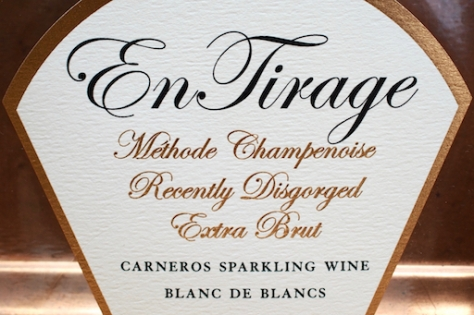 2010 Blanc de Blancs label